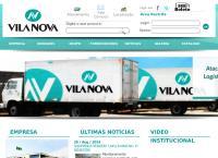 Site do Supermercado Vila Sul