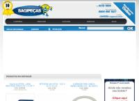 Site do Sagipeças Comercio De Peças E Acessorios Ltda