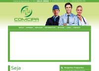 Site do Comcipa Representação Empresarial Ltda