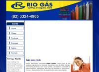 Site do Rio Gas Comércio e Distribuição Ltda