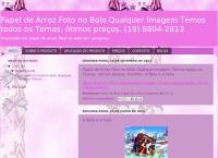 Site do Papel Arroz Campinas