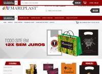 Site do Mareplast Comércio de Embalagens EIRELI
