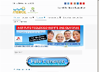 Site do Instituto Teológico Monte Das Oliveiras