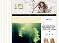 Site do Agência Up! Moda Comunicação Ltda