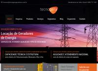 Site do Tecnogera Geradores