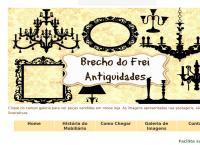 Site do Brechó Do Frei