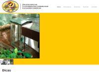 Site do Projemat Elevadores