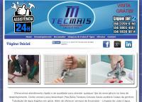 Site do Tecmais Desentupimento & Encanador Em Natal/Rn