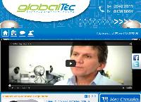 Site do Globaltec Segurança Eletrônica