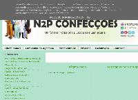 Site do N2P Confecções - Uniformes Profissionais, Escolares e Camisetaria
