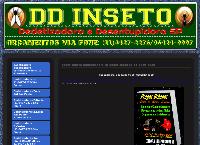 Site do DD Inseto - Dedetizadora e Desentupidora SP