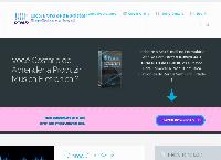 Site do EMEB - Escola Online de Música Eletrônica do Brasil