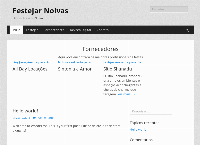 Site do Festejar Noivas