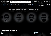 Site do BARBA BRASIL BEARD CLUB