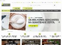 Site do Verde Leve Alimentos Saudáveis Online